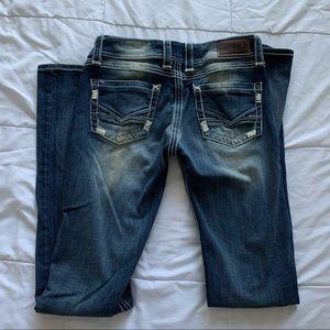 BKE Denim   Addison Low Rise Jeans